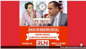 Gobierno Digital – Conversación con Ramon Luis Nieves (pre-candidato a Senado)