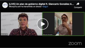 Un plan de gobierno digital ft. Giancarlo González Ascar